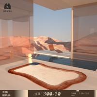 原创设计维纳斯轻奢地毯客厅卧室北欧INS沙发茶几垫
