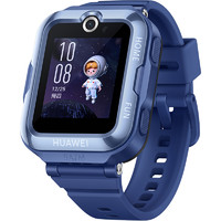 HUAWEI 华为 4 Pro 智能儿童手表 35.8mm 蓝色 蓝色硅胶表带 (北斗、GPS)