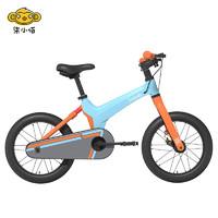 柒小佰/700kids 自行车S1 男女童车小孩单车16寸脚踏车小学生幼儿宝宝平衡自行车 蓝
