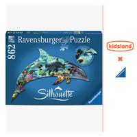 凯知乐 睿思ravensburger地标建筑系列异形拼图成人儿童益智玩具 灯塔异形拼图995片160983