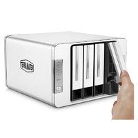 TERRAMASTER 铁威马 F4-210NAS存储服务器私有云存储4盘位共享硬盘盒网络存储器