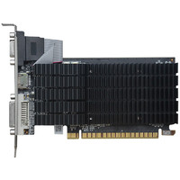 小影霸 Hasee神舟)GT610 /710 多屏显卡HDMI DVI VGA接口炒股监控投影办公卡  GT610PRO 2G 散热版