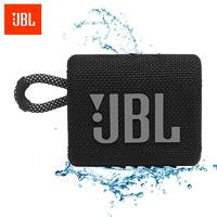 JBL 杰宝 GO3 音乐金砖三代 便携式蓝牙音箱 低音炮 户外音箱 迷你小音响 极速充电长续航 防水防尘设计 黑色