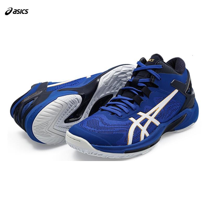 ASICS 亚瑟士 篮球鞋男子高帮运动鞋球场三井寿篮球鞋GELHOOP V11 1063A032-401 蓝色 39
