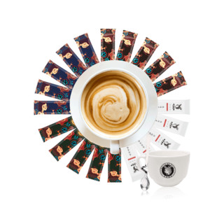 黑鹿  速溶三合一咖啡粉五种口味混合装