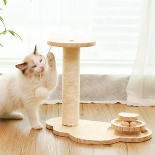 守爱 猫爬架小型跳台猫抓柱