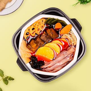 LA WEI KE 辣味客 自煮即食火锅 麻辣牛肉390克*1