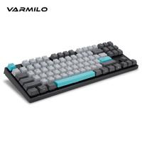 VARMILO 阿米洛 夜色108机械键盘樱桃红轴87键静电容轴办公游戏电竞