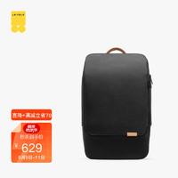 地平线8号(LEVEL8)都市双肩包 休闲商务笔记本电脑包15.6英寸 男女书包 ZERO零感背包 黑色