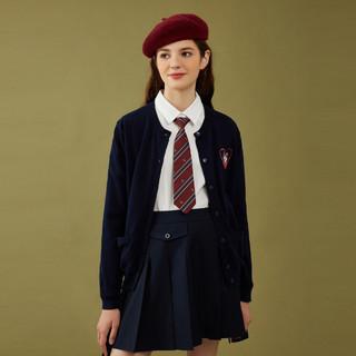 针织衫女开衫空调服外套短款外穿英伦系列