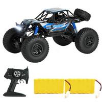 美致模型 遥控汽车越野车48cm超大耐摔高速攀爬车四驱赛车模型 蓝色