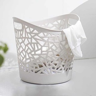 米囹 大号塑料脏衣篓浴室洗衣篮客厅玩具收纳筐手提脏衣服脏衣篮