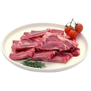 鸿安 牛仔骨牛肉新鲜黑椒冷冻牛肋排带骨牛排冻品生鲜牛小排1200g