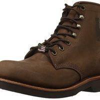 Chippewa 男士 6 英寸坚固手工系带靴
