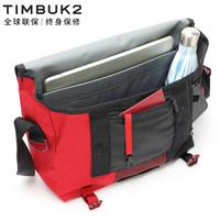 TIMBUK2 天霸 邮差包轻便电脑单肩包斜跨包休闲运动包男女 酒红色升级款 S