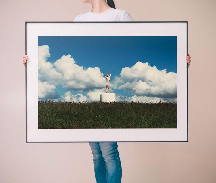 PICA Photo 拾相记 Linas Vaitonis 作品《云舞》28 x 33 cm 内衬装裱 限量50件