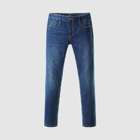 HLA 海澜之家 男士舒适简约口袋有型牛仔裤经典牛仔长裤