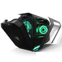 Antec 安钛克 Cube-Razer雷蛇 黑色ITX台式主机电脑游戏机箱送绿光风扇