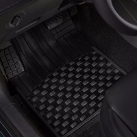 3W 通用款可裁式汽车脚垫大众丰田本田吉利平铺款定制TPE橡胶垫058