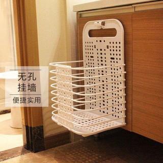 李绅 收纳篮壁挂折叠脏衣篮卫生间收纳筐脏衣篓