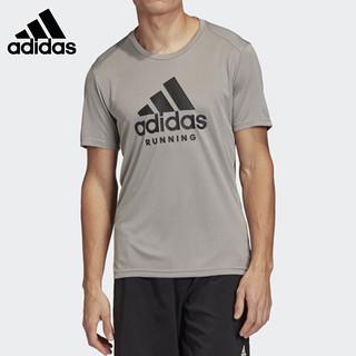 adidas 阿迪达斯 短袖男装T恤2021夏季新款宽松圆领运动服休闲半袖FJ5002