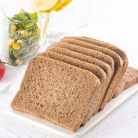 菲尝豪迈 黑麦吐司代餐面包低热量早餐代餐全麦无糖粗粮面包饱腹500克