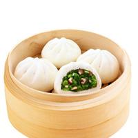 Anjoy 安井 香菇素菜包家庭装营养早餐菜馒头包子面食点心速冻食品
