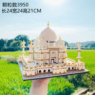 Disney 迪士尼 生日礼物积木建筑 泰姬陵城堡 (2666颗)送工具
