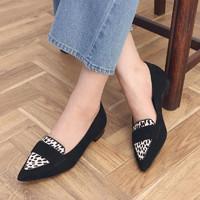 Clarks 其乐 秋季新款女士拼接尖头复古单鞋乐福鞋