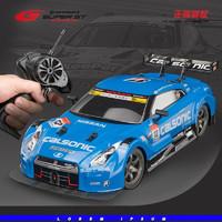 京东PLUS会员 : 宙思 专业RC遥控车1:16四驱漂移赛车GTR