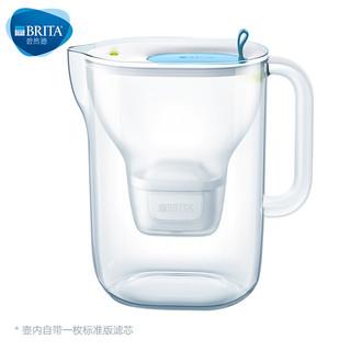 BRITA 碧然德 3.5L过滤净水器 家用滤水壶 净水壶Style XL设计师系列 蓝色 设计师水壶(蓝色)