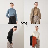 麦檬 MM羊绒衫高领羊毛衣针织衫女5B9833361Q-1