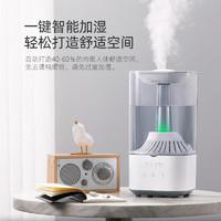 Midea 美的 家用静音卧室加湿器杀菌空调大雾量喷雾器孕妇婴儿空气净化器