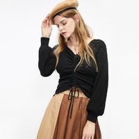 ONLY 秋季时尚洋气修身薄毛衣针织衫