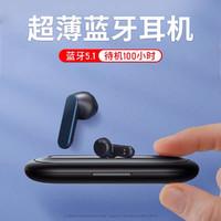 REMAX 睿量 蓝牙耳机半入耳无线超薄跑步长待机适用于苹果小米oppo安卓高音质