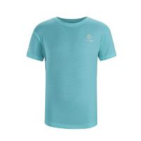 KAILAS 凯乐石 童装夏季户外跑步运动T恤男童休闲圆领短袖快干上衣