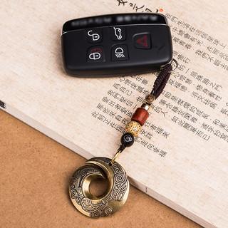 FANXIA 梵下 复古黄铜扭转乾坤扣钥匙扣挂件配饰礼品