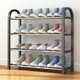 美家星 鞋架门口多层鞋柜简易拖鞋架子出租房客厅置物架收纳层架组装加固型