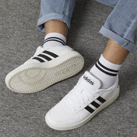 adidas NEO 秋季新款HOOPS 2.0男款低帮休闲鞋运动鞋板鞋小白鞋男鞋