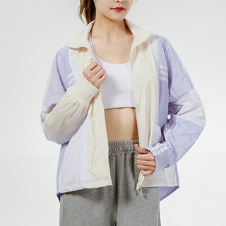 adidas 阿迪达斯 秋季新款时尚女子梭织夹克运动休闲外套训练女装开衫宽松