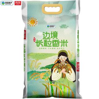 serene 西瑞 边境长粒香米5kg(10斤) 东北大米 优选长粒香米 产自北大荒  口感筋道 陕粮出品