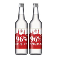 Spirytus 生命之水 96度伏特加 vodka 原瓶进口洋酒 高度烈酒蒸馏酒基酒预调酒 小鸟伏特加 500ml*2瓶