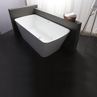 英皇 欧式简约实用浴盆小户型卫生间专用亚克力单人艺术浴缸