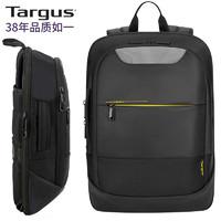 Targus 泰格斯 美国双肩电脑包14/15.6英寸通勤背包潮流双肩包轻便书包防泼水笔记本包多用包男女黑色 661