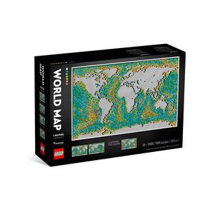 LEGO 乐高 31203世界地图 创意生活 拼插积木益智玩具