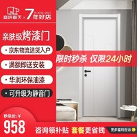 塞纳春天 木门 卧室门房间门定制房门室内门木质复合烤漆套装门 SNCT-A101(简约现代)