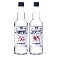 Spirytus 生命之水 伏特加96度高度烈酒 Spirytus Vodka 原瓶进口洋酒基酒调酒小鸟 500ml*2瓶