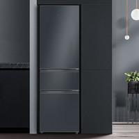 TCL 家用200升迷你三开门电冰箱大容量节能省电小型三门宿舍租房用
