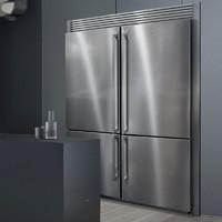 Electrolux 伊莱克斯 496L冰箱进口两门1级节能变频超大容量家用独立嵌入式风冷无霜冰箱 EBE5307SA组合
