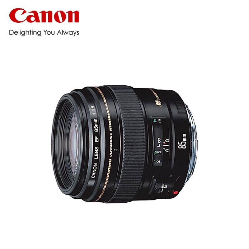 佳能/Canon单反人像小痰盂定焦镜头 EF 85mm f/1.8 USM